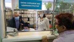 Губернатор Новосибирской области проверил работу поликлиник в майские праздники: вакцинация и диспансеризация проходят без сбоев