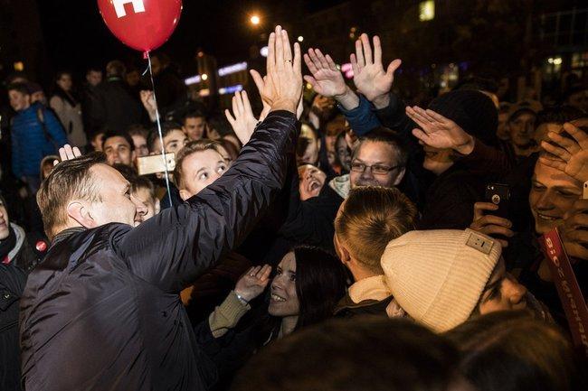 Навальный объявил овсероссийской акции протеста 7октября