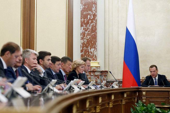 Медведев правительство