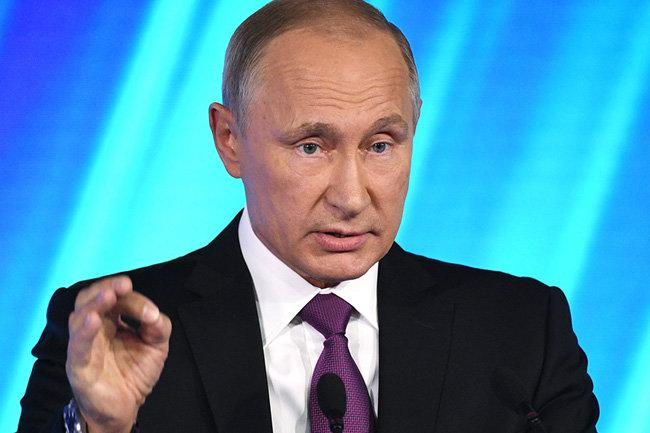 Путин лаконично ответил навопрос о вероятном  выдвижении нановый президентских срок
