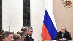 Путин назвал главной задачей ВСРоссии укрепление ядерной триады