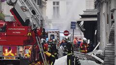 В Париже взорвался дом: виноват бытовой газ