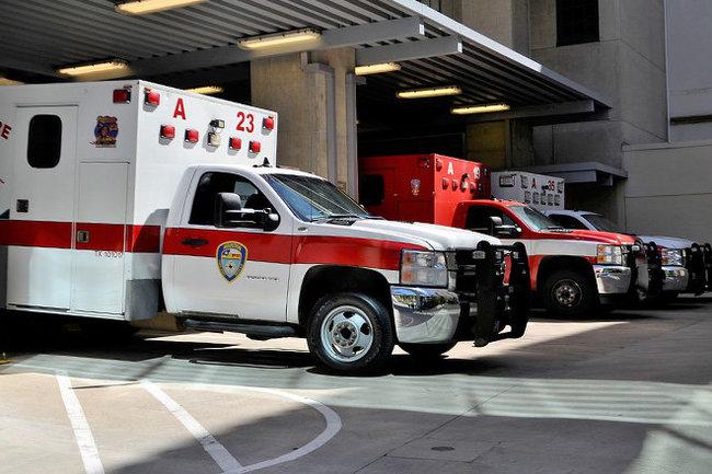 Скорая госпиталь больница США