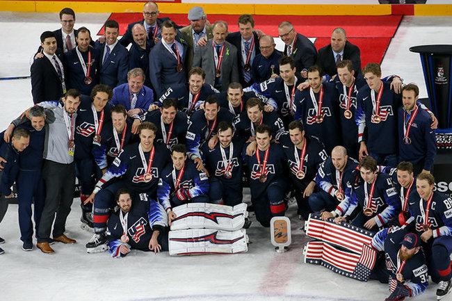 США хоккей