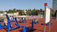 В Сургуте в парке «За Саймой» появилась новая спортплощадка
