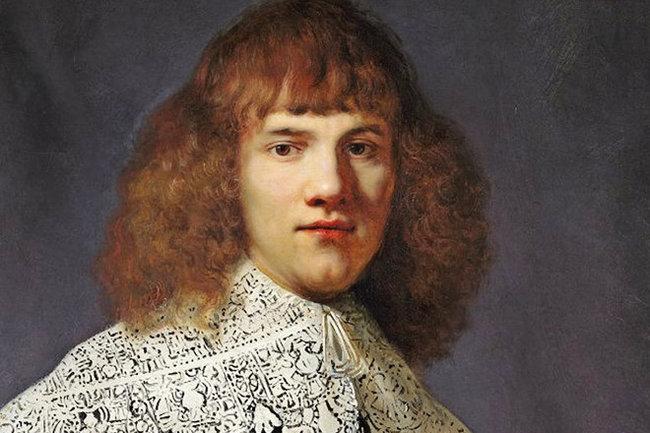 Портрет молодого человека Рембрант