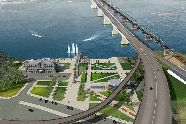 проект четвертого моста через Обь