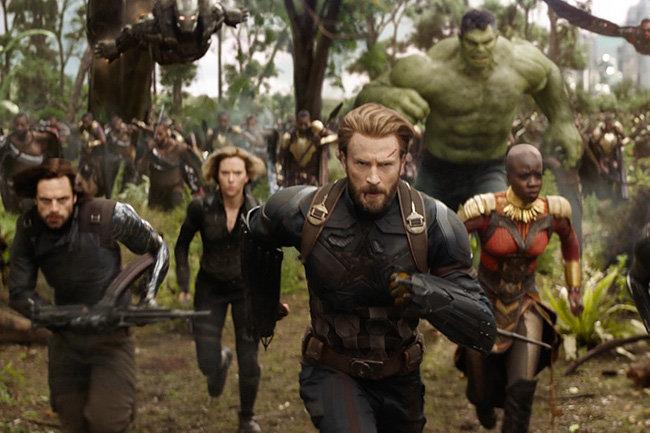 Трейлер фильма «Мстители: вражда  бесконечности» набрал рекордное число просмотров засутки
