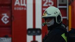 Торговый центр загорелся в Архангельске
