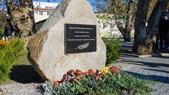 В парке Хосты открыли мемориал в память о погибших в Чечне