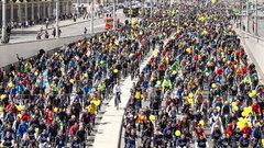 Женщина устроила массовое ДТП с участием велогонщиков в Бельгии