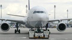 Самолет с российскими туристами съехал с полосы в аэропорту Греции