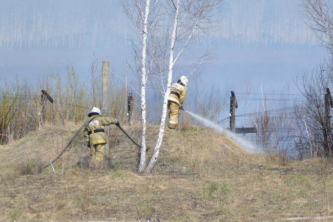 Режим ЧС введен в Пластовском районе Челябинской области из-за крупного лесостепного пожара