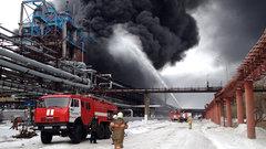 11 человек пострадали при взрыве на каучуковом заводе в Омске