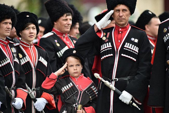 Кубань Краснодар казаки казачество
