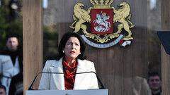 Президент Грузии намекнула, что Россия не уважает международное право