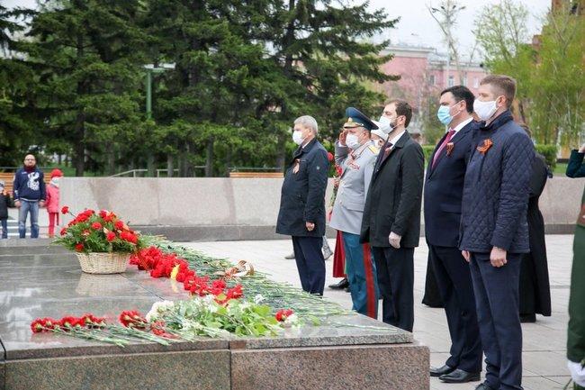 9 мая в Иркутске состоялись торжественные мероприятия, посвященные Дню Победы