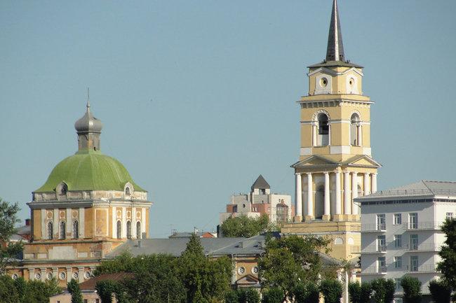 Кафедральный соьор в Перми.