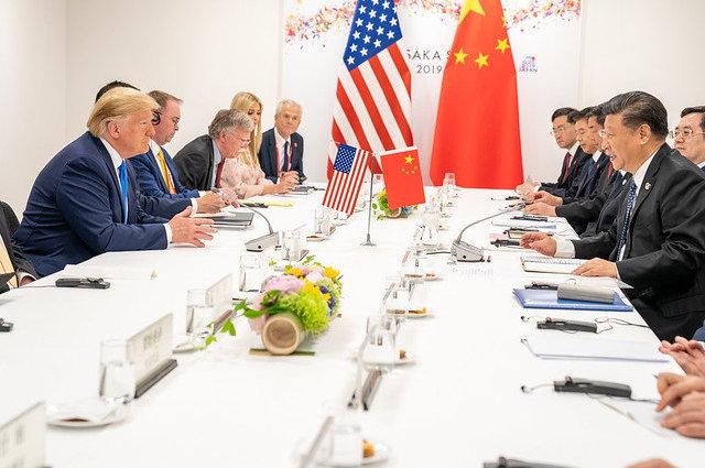 Дональд Трамп переговоры Китай
