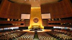 Российская делегация покинула заседание Генассамблеи ООН