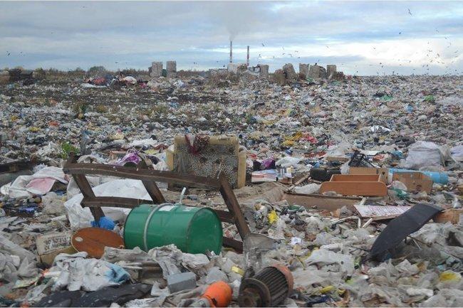 Архангельский мусорный полигон