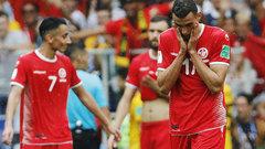 Тунис прервал серию поражений начемпионатах мира пофутболу