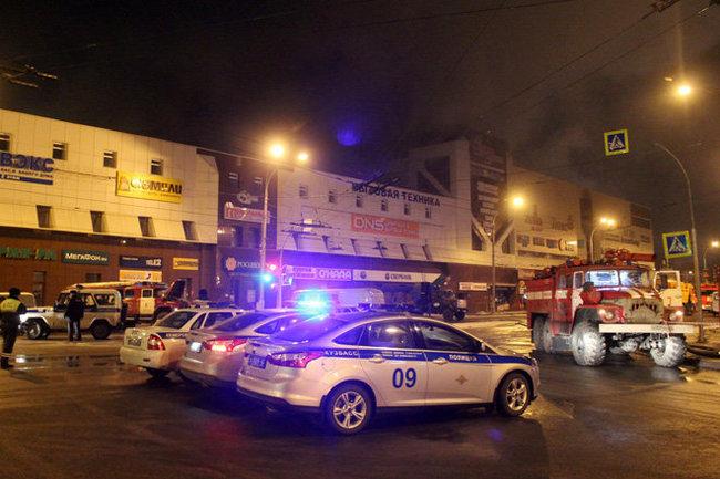 Первопричиной пожара вТЦ Кемерове мог стать взрыв пропана