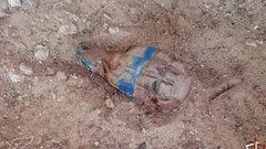 В тюменском поселке при проведении дорожных работ нашли боевую гранату