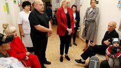 Вице-губернатор Краснодарского края проинспектировала две поликлиники