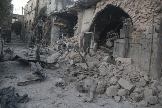 Франция обнародовала видео удара поСирии