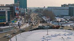 В Новосибирске площадь Маркса может стать пешеходной