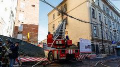 В Москве загорелась пристройка к консерватории