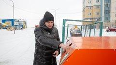В Салехарде установили контейнеры для раздельного сбора мусора