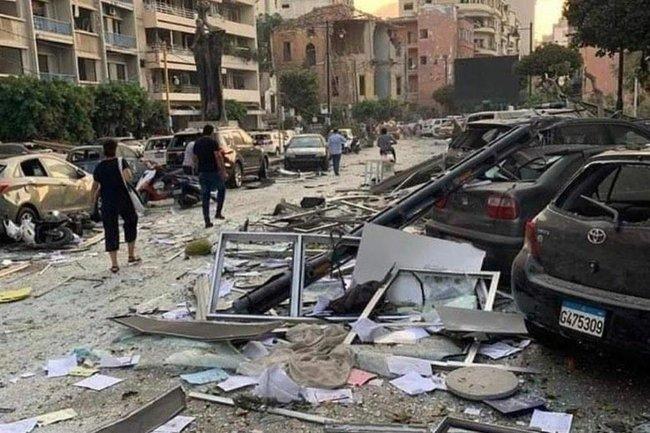 Бейрут/взрыв
