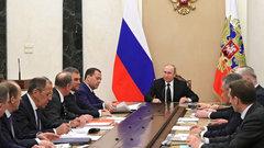 Путин обсудил с Совбезом российско-британские отношения и Сирию