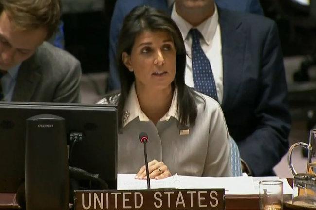 Постпред США при ООН Никки Хейли