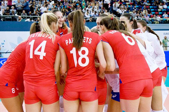 сборная по волейболу