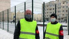 В Надыме народная дружина патрулирует улицы во время режима самоизоляции