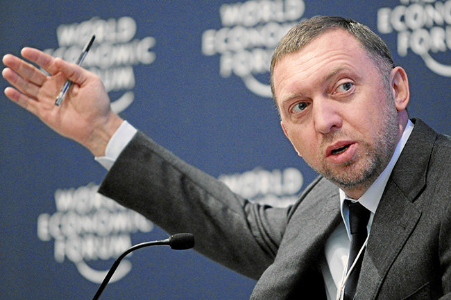 ВТБ перестал кредитовать Дерипаску иего компании
