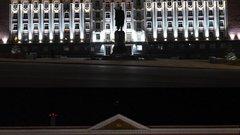 В Курске отключили архитектурную подсветку зданий