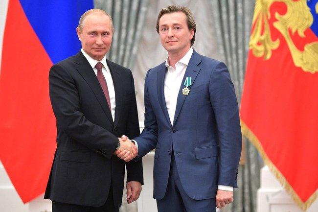 Владимир Путин и Сергей Безруков