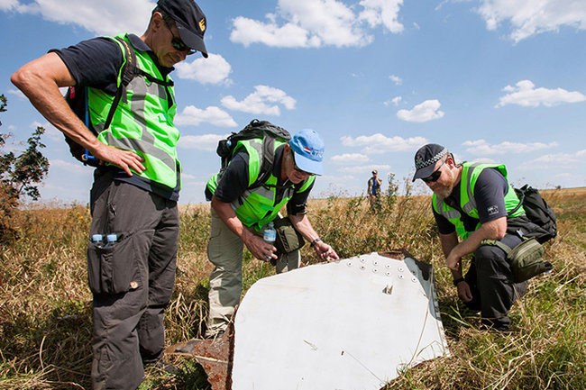 MH17 самолет крушение