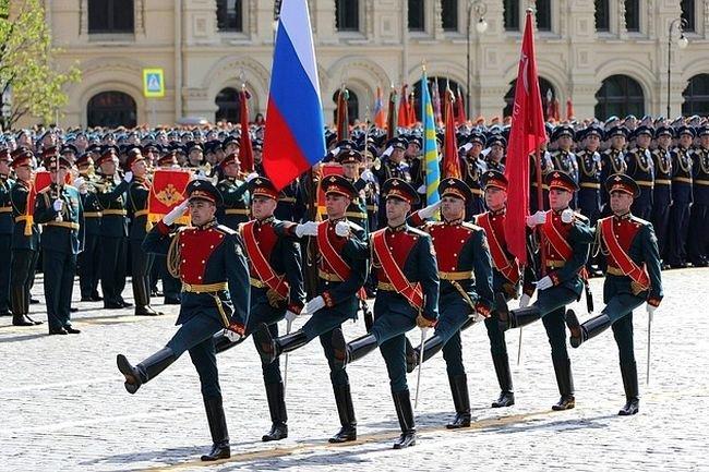 Парад Победы в Москве. 9 мая 2018 года