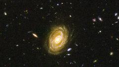 Астрономы выявили крупнейшую спиральную галактику