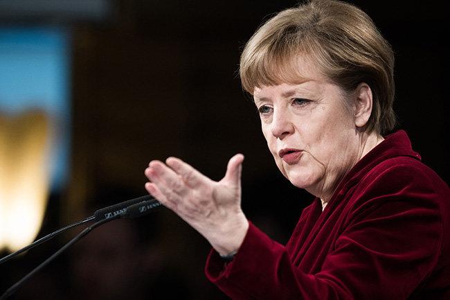 На Меркель произошло нападение у бундестага