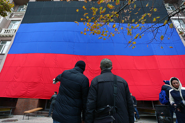 Вгосударстве Украина принят закон ореинтеграции Донбасса