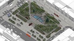В Нижнем Новгороде восстанавливают три общественных пространства