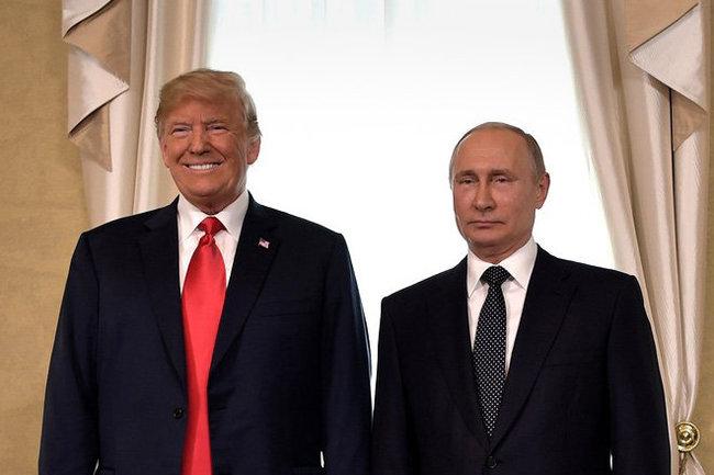 Дональд Трамп Владимир Путин