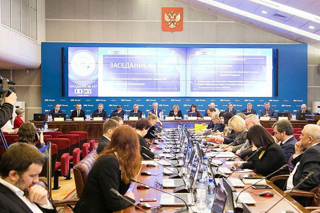 ВЦИК озвучили итоги выборов после обработки 99,84% бюллетеней