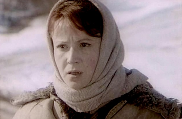 """Тамара Дегтярёва. Кадр из фильма """"Вечный зов"""" (1973-1983)"""